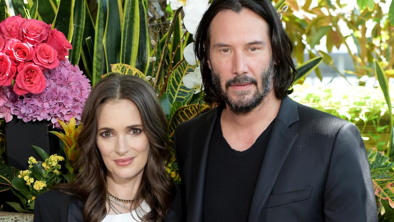 Winona Ryder and Keanu Reeves in 2018. Picture: Kevin Winter/Getty Images