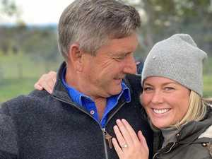 Sam Armytage is engaged, but still can't escape the gossip