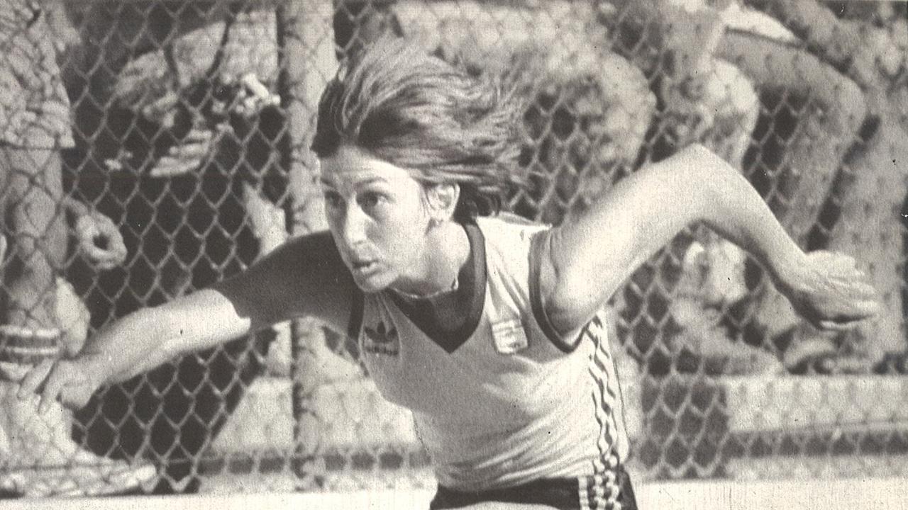 Australian pentathlete Glynis Nunn. PIC: BRUCE HOWARD.