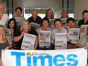 FLASHBACK: Whitsunday Times staff over the decades