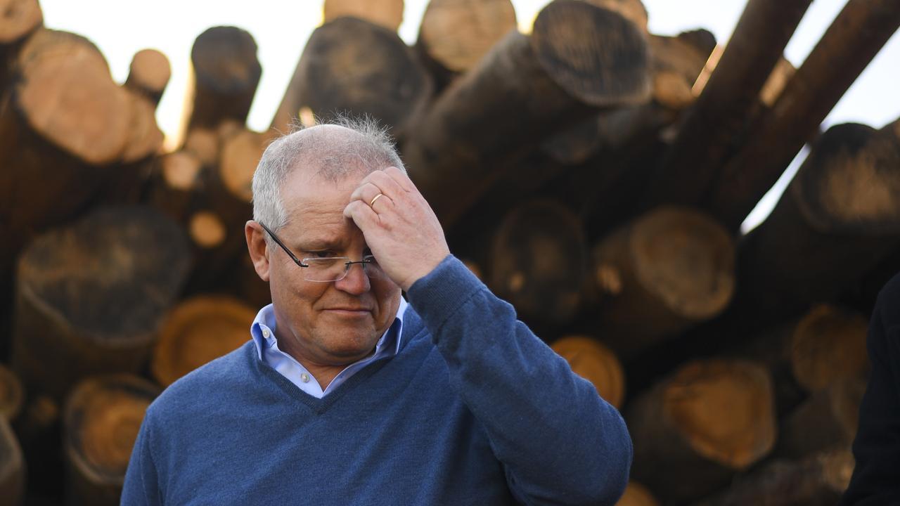 Australian Prime Minister Scott Morrison. Picture: Lukas Coch