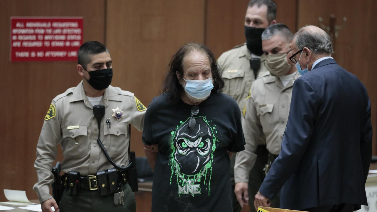 Ronald Jeremy Hyatt appears in court at Clara Shortridge Foltz Criminal Justice Center on June 23, 2020 in Los Angeles, California. Picture: Robert Gauthier-Pool/Getty Images