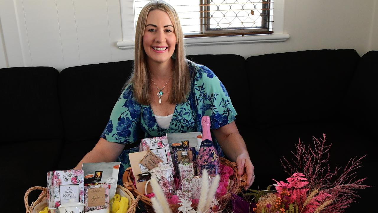 FOREVER FLOWERS: After working on new products during isolation, Lucinda Bell has launched new items made with love to assist couples when celebrating their special day. Picture: Mike Knott.