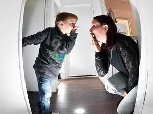 'Boo!': Creepy spirits keep family on their toes