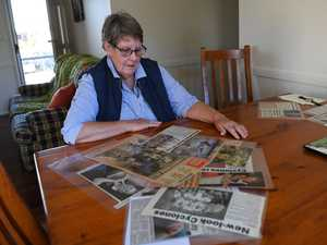 Denise Fisher has a number of clippings from The