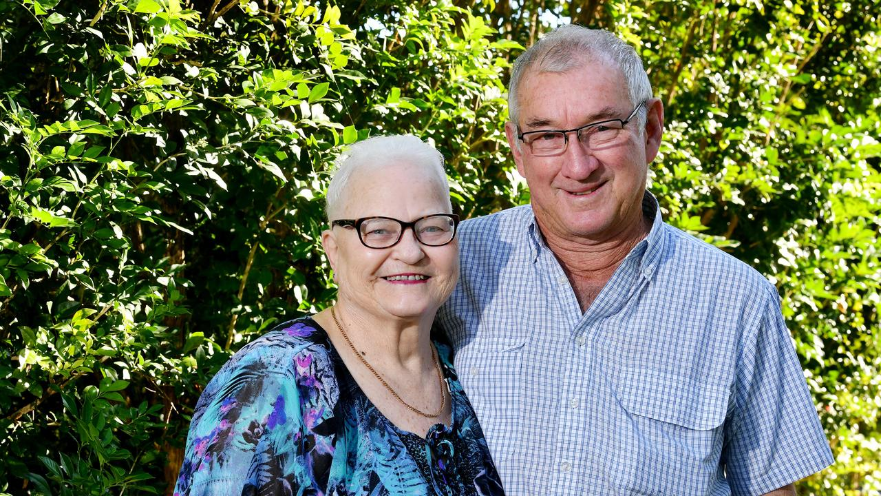 Allan and Sue Crawford are celebrating their 50th wedding anniversary. Picture: Tony Martin