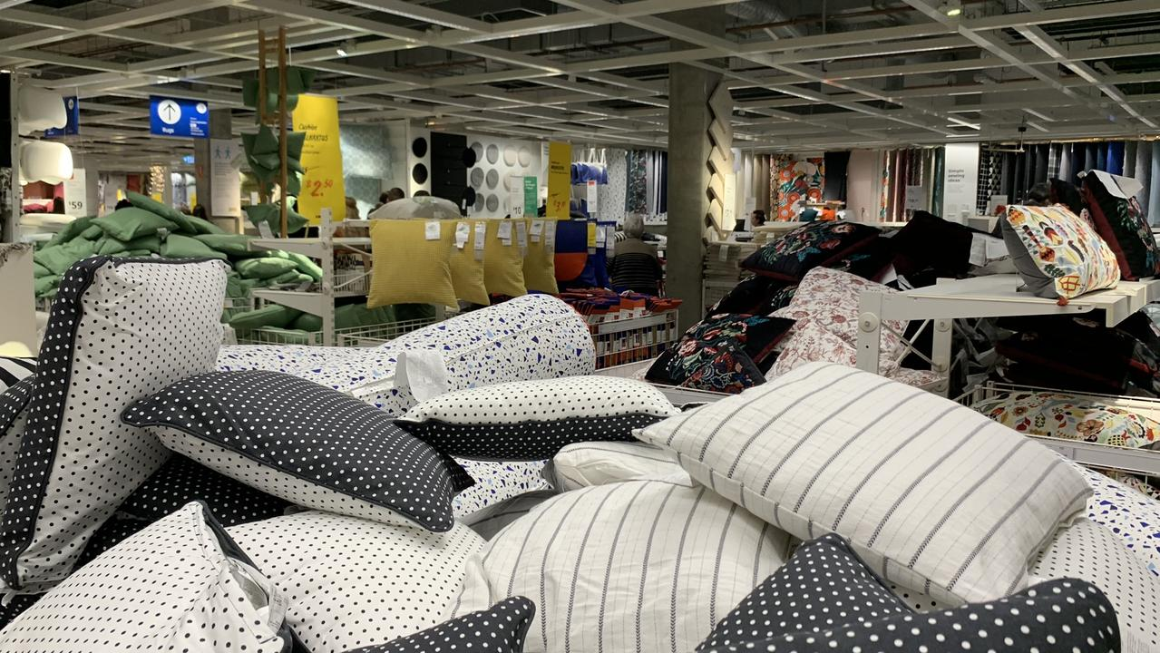 If you want Ikea cushions your luck is in. Picture: Benedict brook/news.com.au