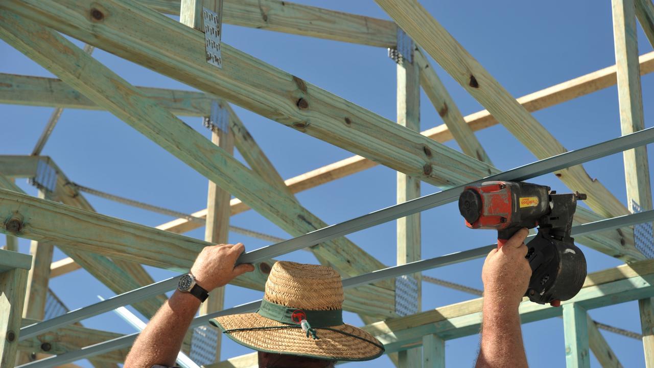 Building constructionPhoto: Brett Wortman / Sunshine Coast Daily