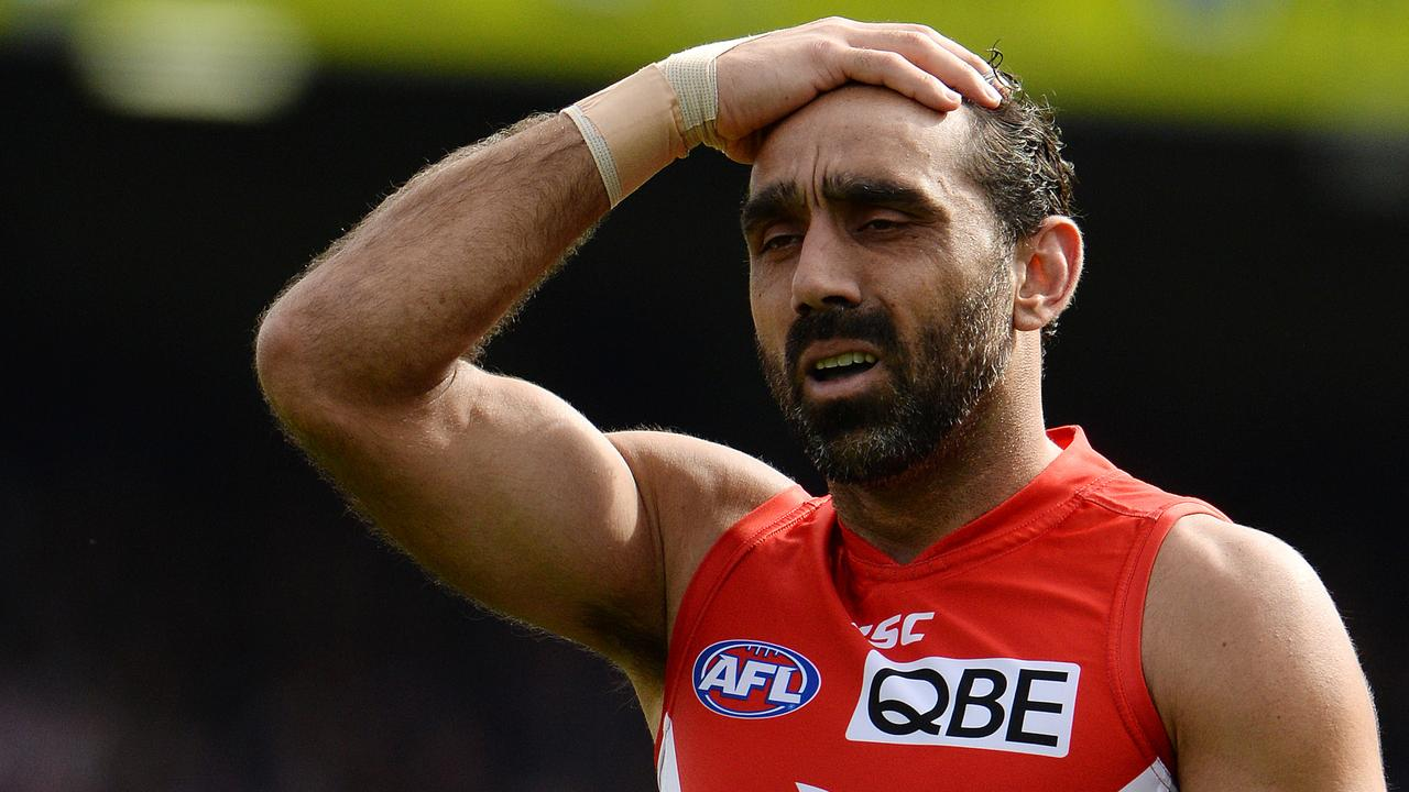 A documentary highlighting Adam Goodes' battle with racism in Australia was shown in America on Thursday — and the reviews are in.