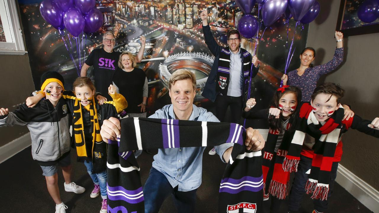 AFL champion Nick Riewoldt and his family say restrictions will not diminish the fighting spirit of this year's Maddie's Match.