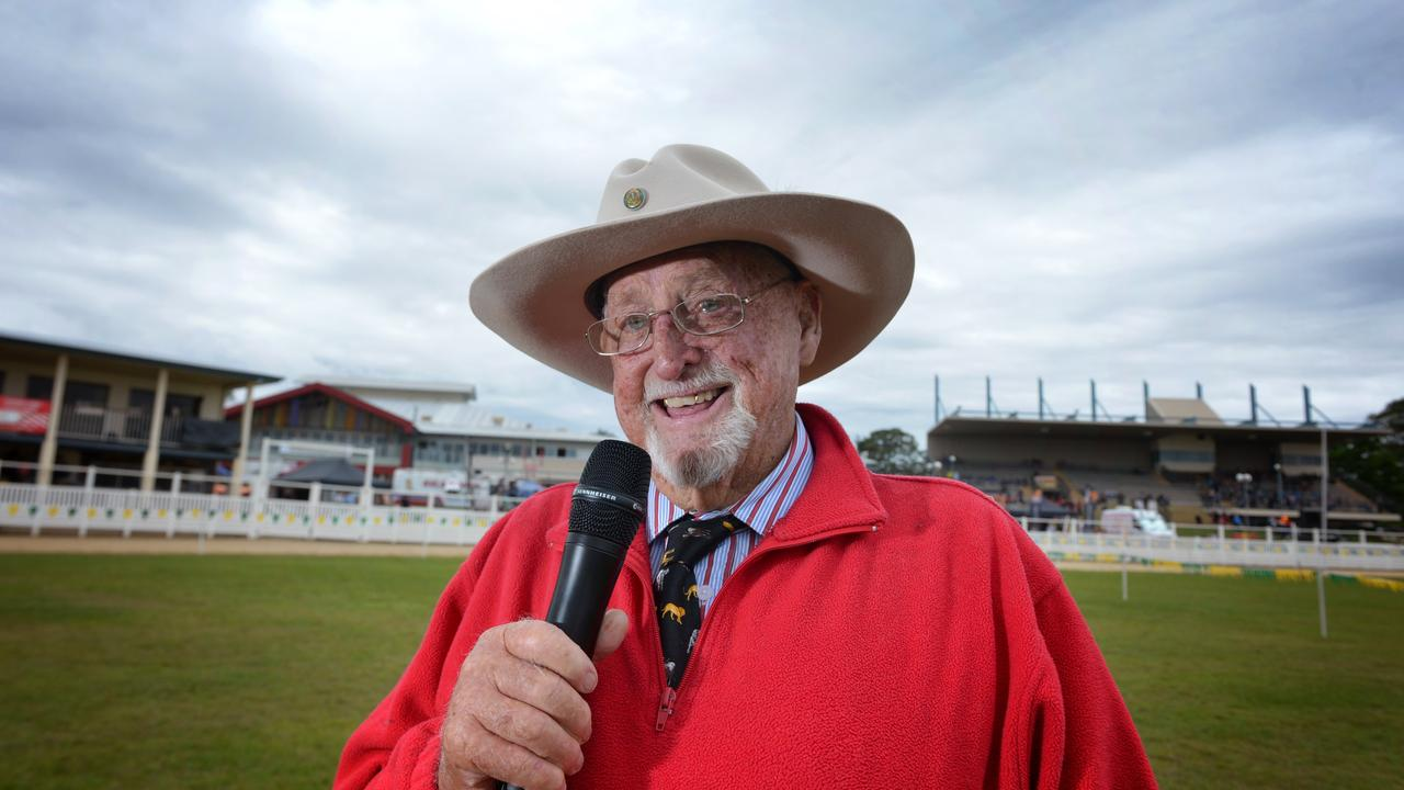 Alain Henderson the voice of the Gympie Show.