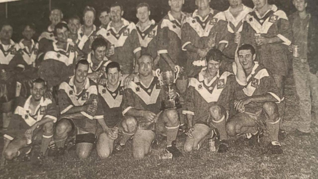 MONTO ROOS: The 2000 Central Rugby League premiers. (Picture: File)