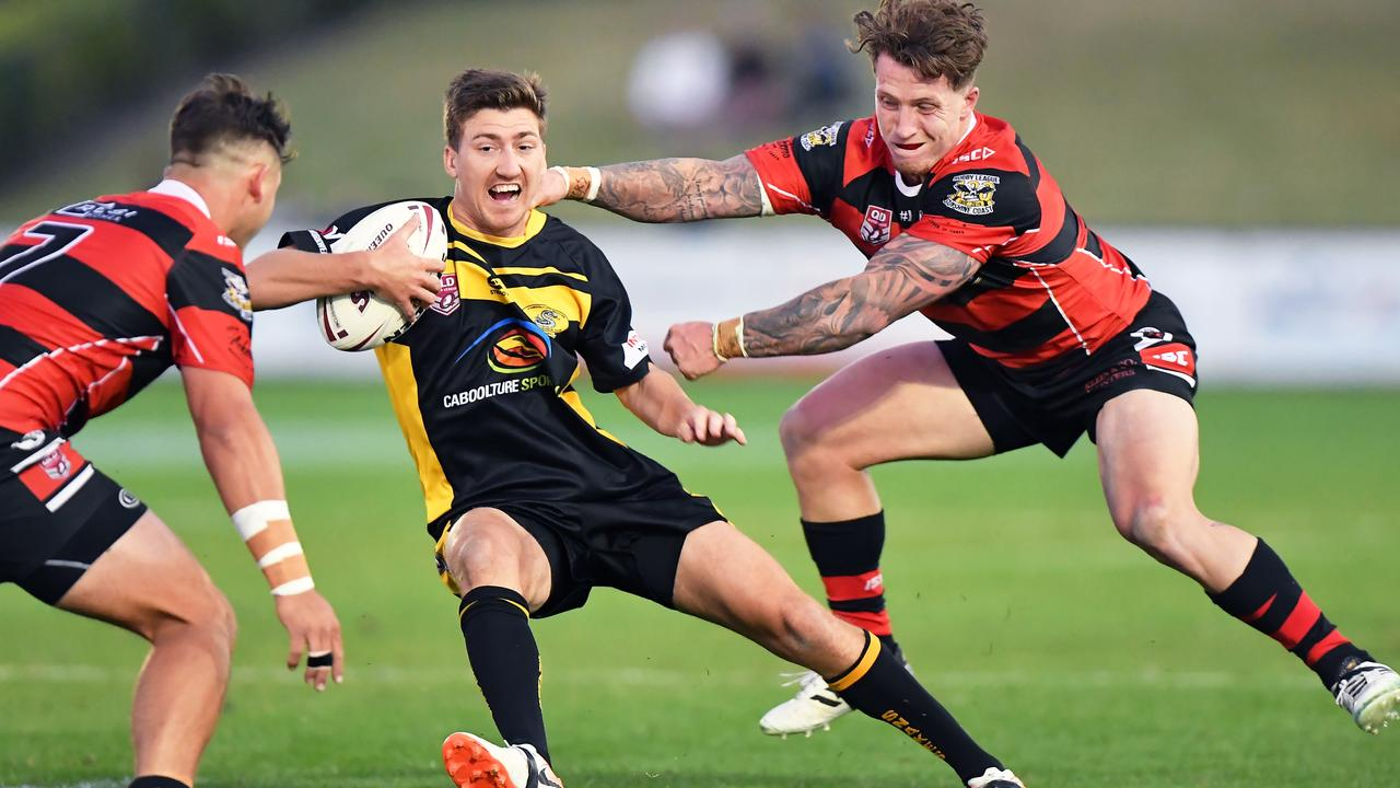 LAST YEAR'S GRAND FINAL: Caboolture and Stanley River met in the Sunshine Coast A-grade decider at Bokarina in 2019. Photo: Patrick Woods / Sunshine Coast Daily
