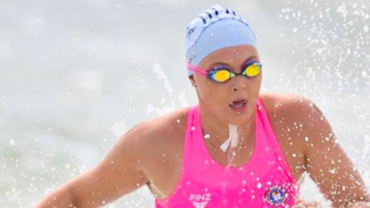 Cudgen Headland Surf Life saver Lily O'Sullivan.