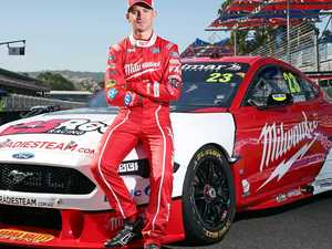 Supercars return tough for Davison