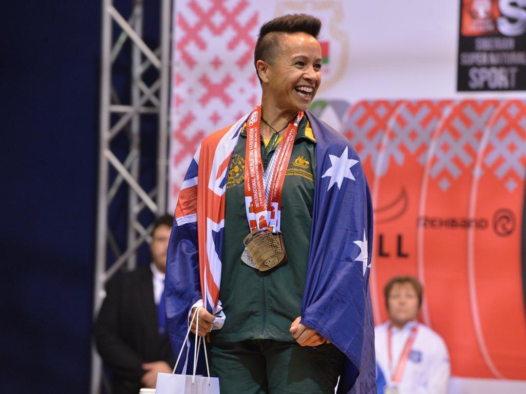 Emerald Powerlifting World Champion Cass Pickard.