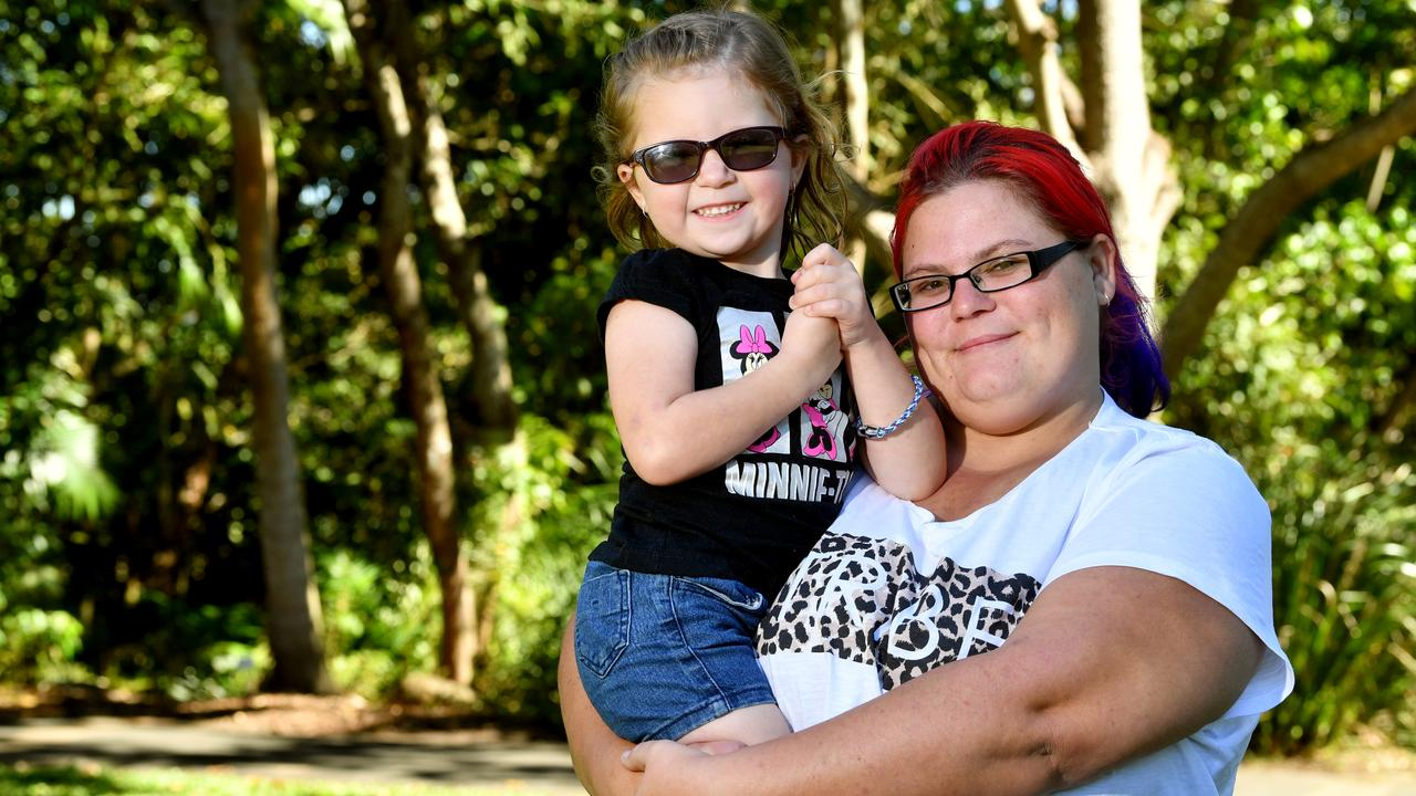 Danielle Starrett and her daughter Lilly Starrett-McInnes. Picture: Tony Martin