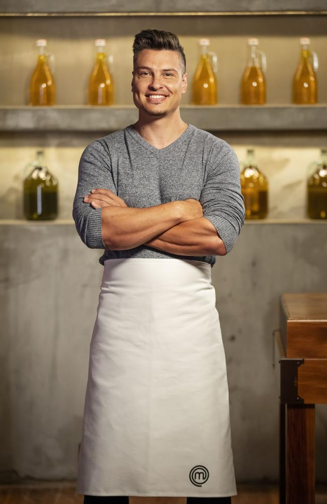 Ben Ungermann was the 2017 runner-up, returning for MasterChef Australia: Back To Win.