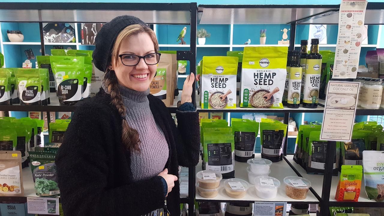 Dalby Health Foods owner Tiomi Nickolls