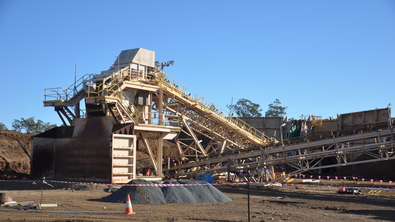 Melior Resources operated the Goondicum ilmenite mine outside Monto when it was open.