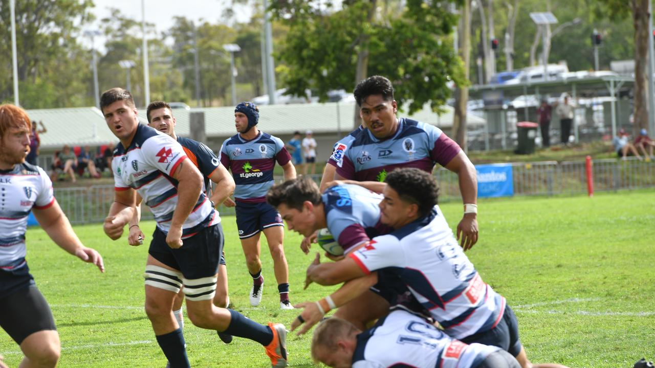 Qld Reds vs Melbourne Rebels at Marley Brown Oval January 17, 2020