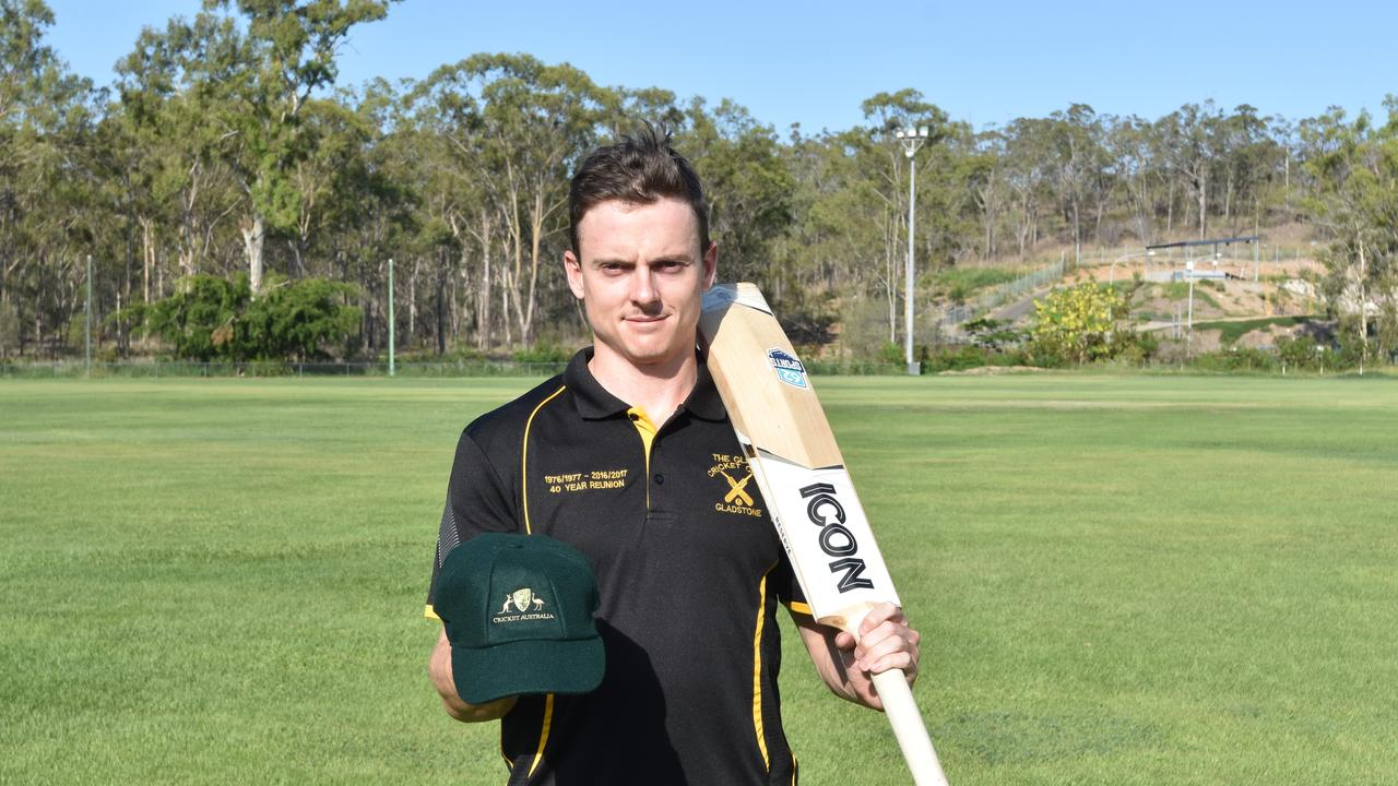 Sam Lowry has awarded with an Australian Country Cricket Cap after his stellar campaign at the Australian Country Cricket Championships in Toowoomba.