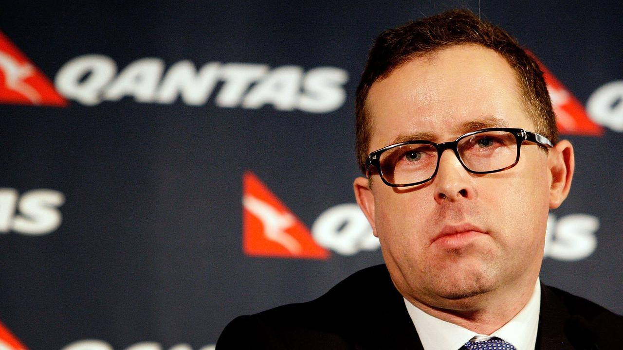 Alan Joyce said the pandemic would affect the airline for many years. Picture: Lisa Maree Williams/Getty Images