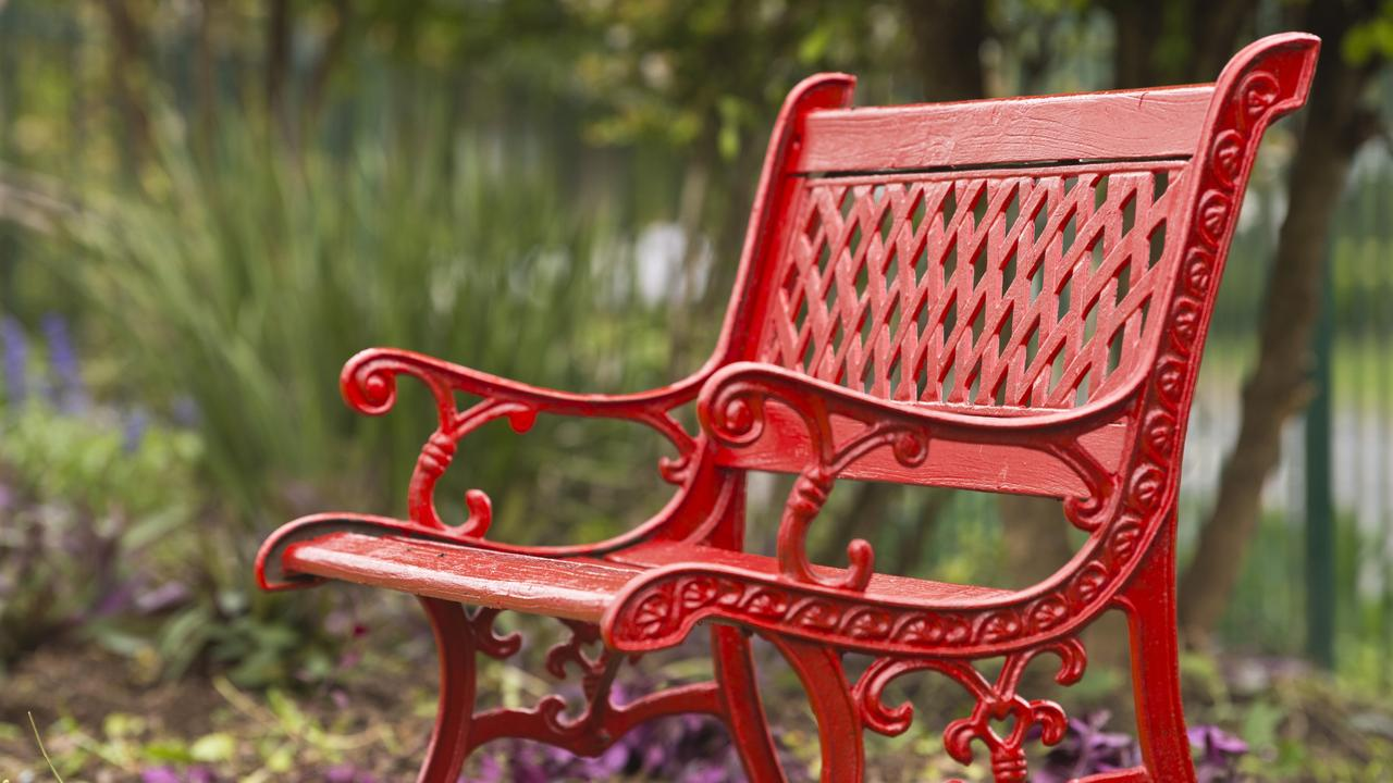 Somerset Regional Council will paint a bench red in support of the Red Rose Foundation. Picture: Kevin Farmer