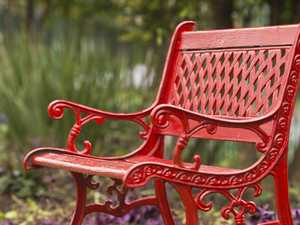 Red bench to serve as stark DV reminder to residents