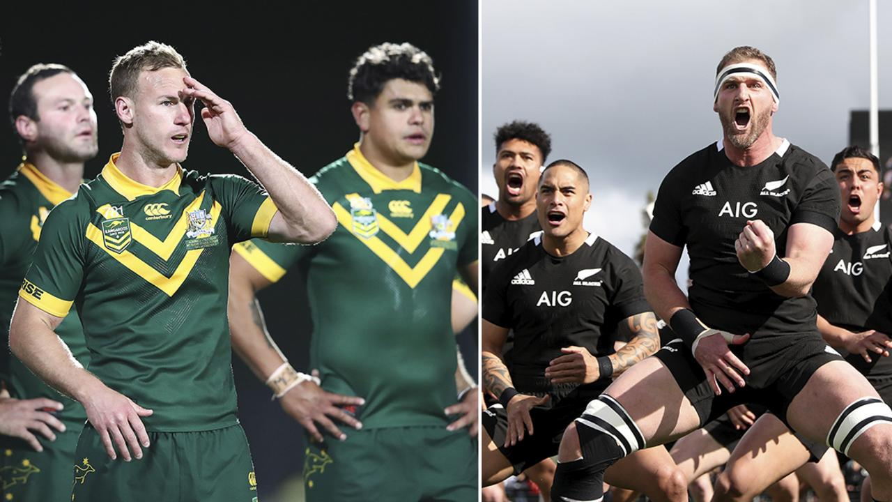 The Kangaroos could take on the All Blacks in a cross-code blockbuster.