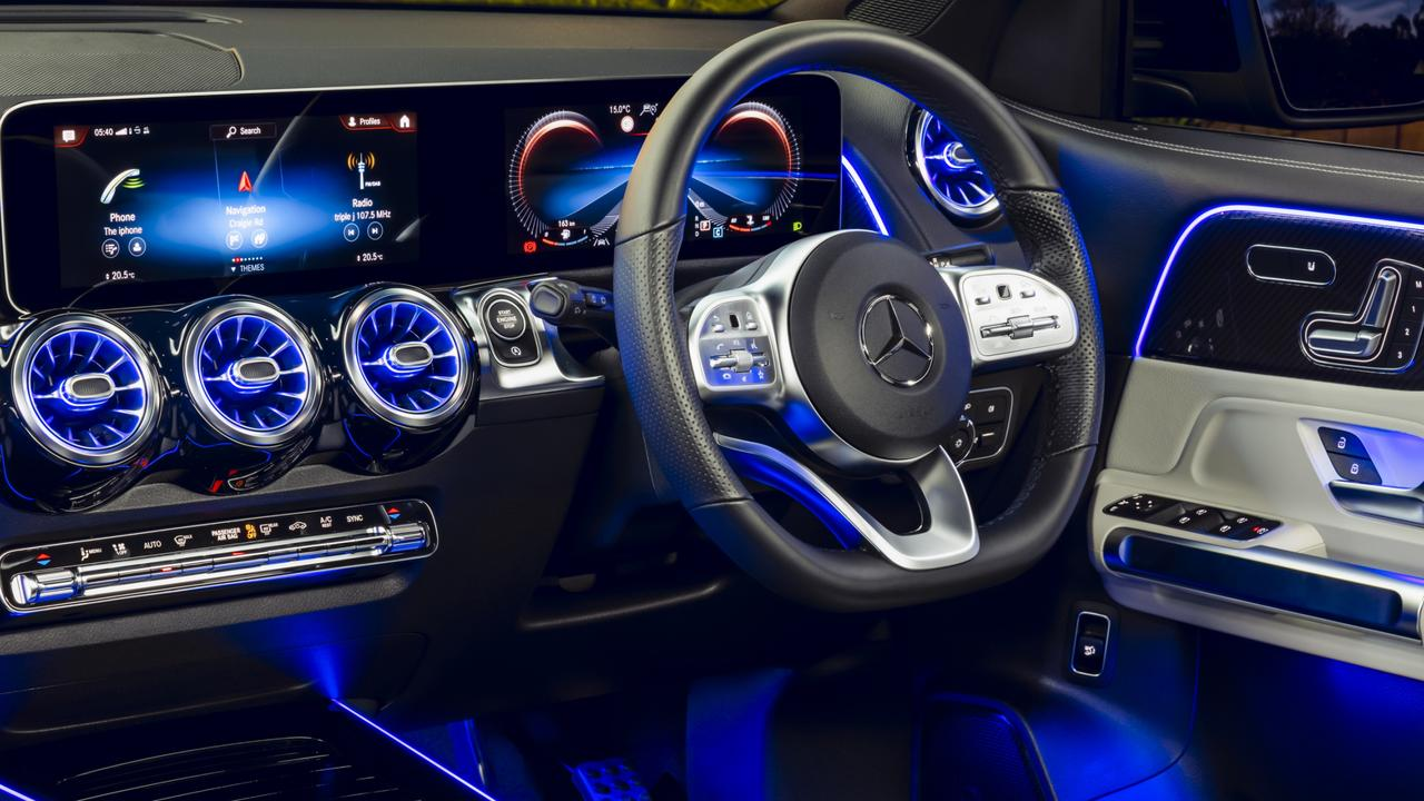 Merceddes-benz has packed the GLB with the latest tech features.