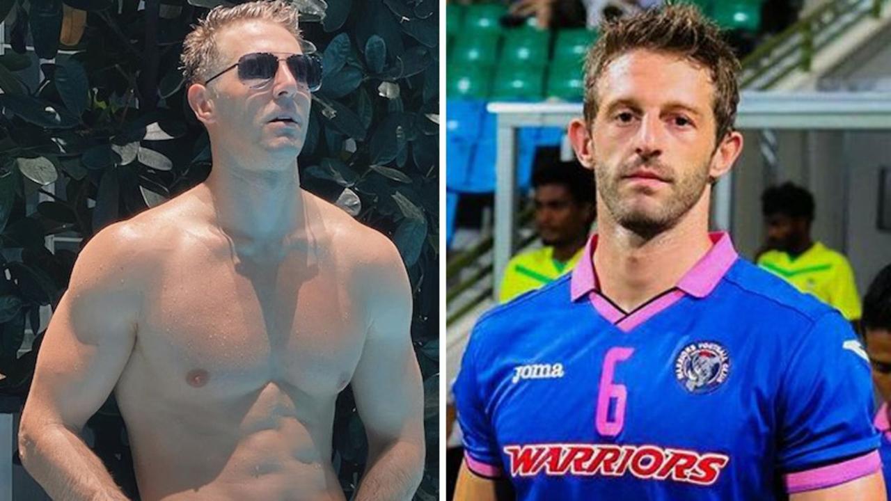 Thomas Beattie and Junpiter Futbol. Picture: Picture: Instagram