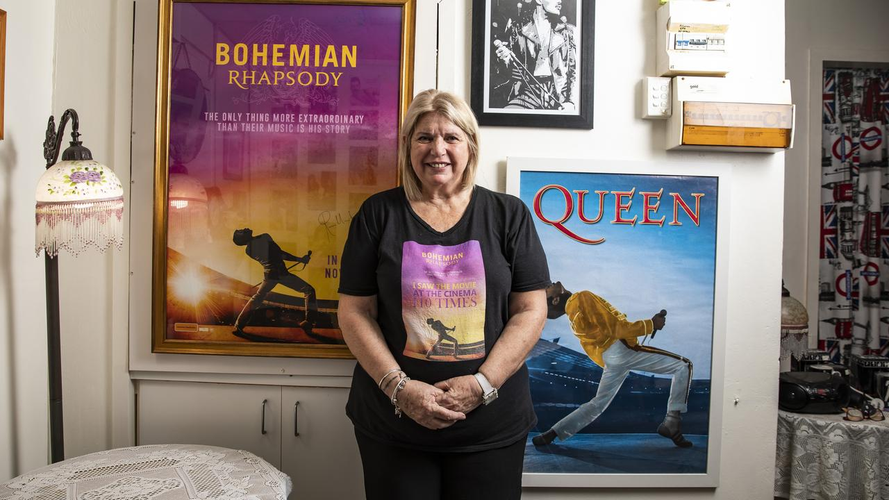 "Joanne Connor is the Guinness World Records holder for ""the most cinema productions attended – same film""- after watch Bohemian Rhapsody 108 times. Picture: Mark Cranitch."