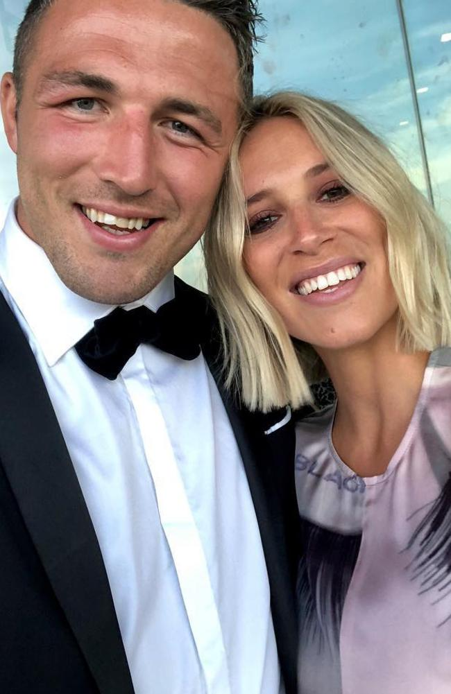 Phoebe and Sam Burgess' divorce was finalised in April. Picture: Instagram.