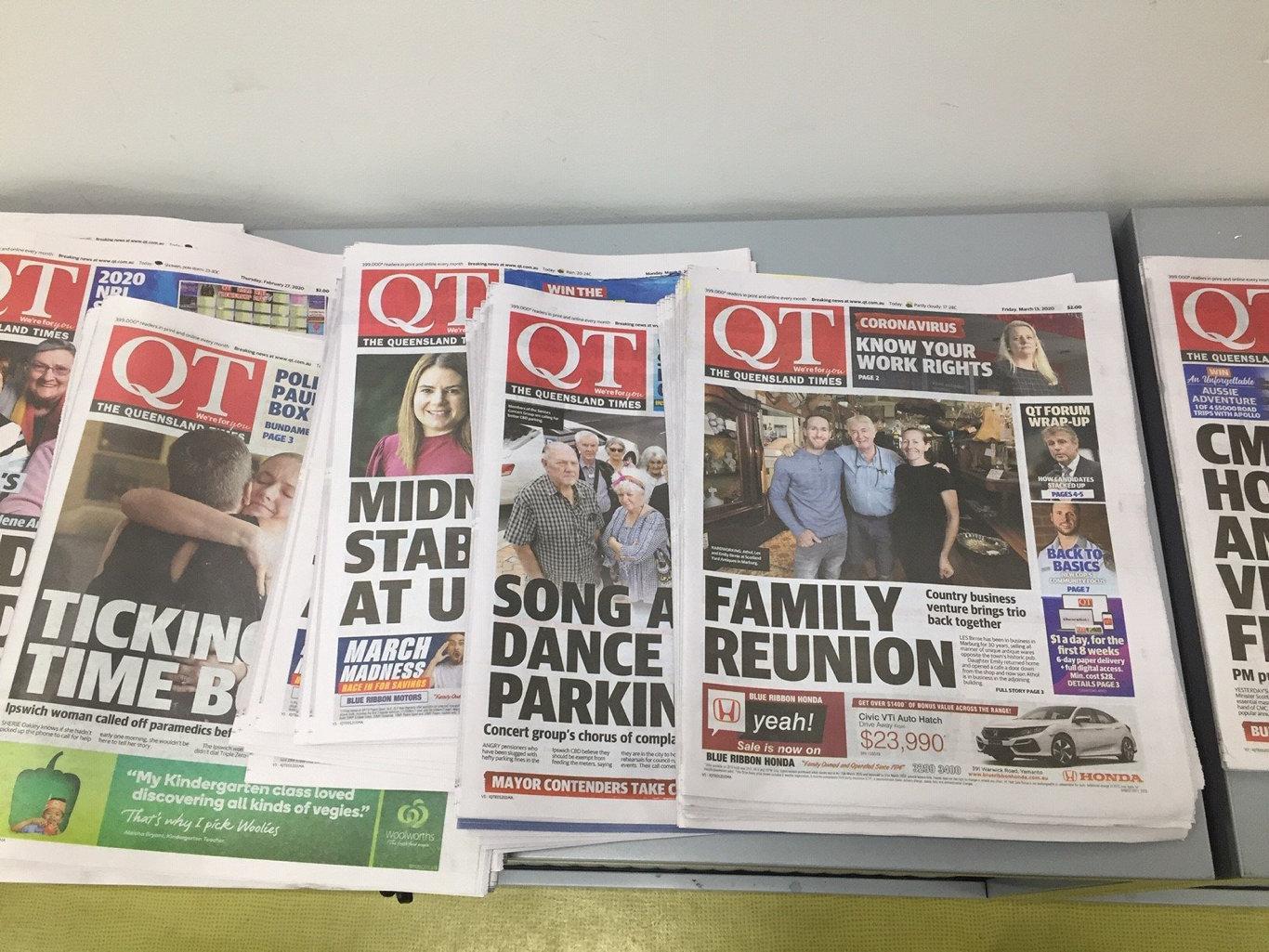 QT papers.