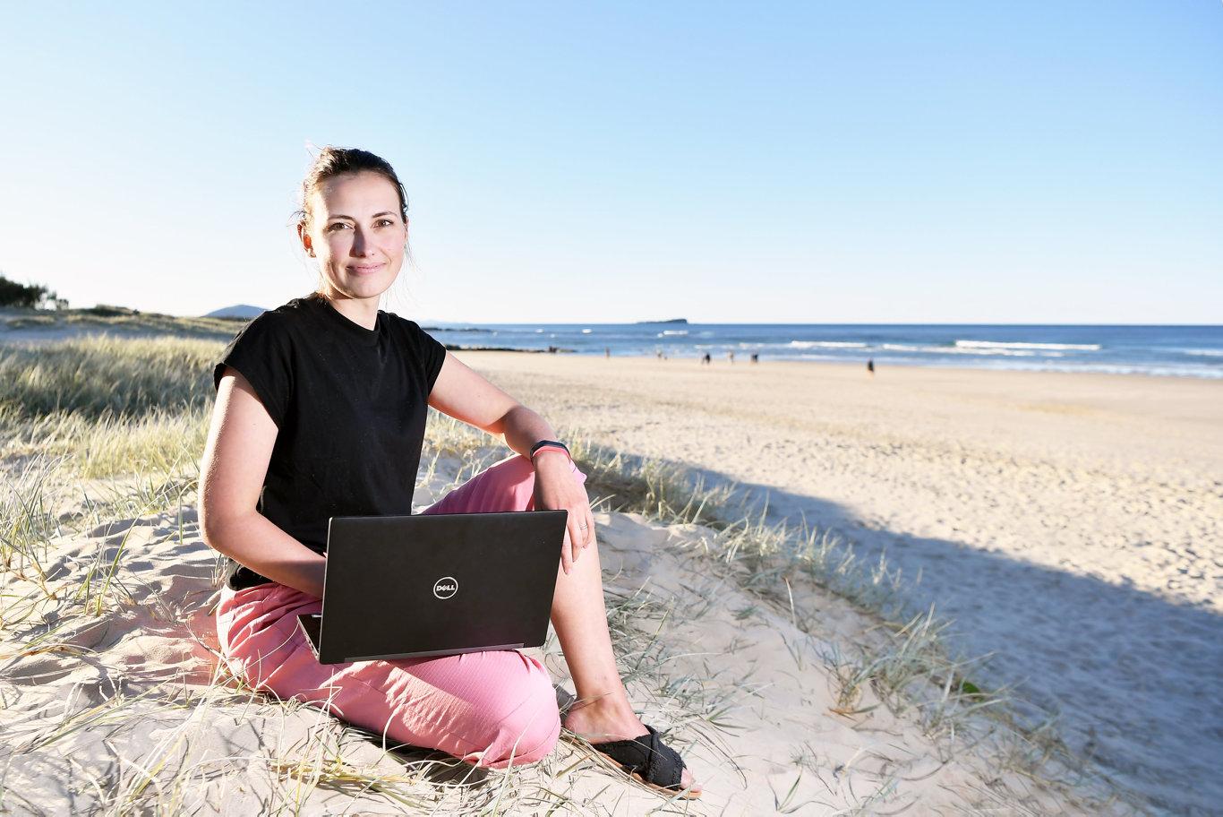 Sunshine Coast Daily's new editor, Nadja Fleet. Photo Patrick Woods / Sunshine Coast Daily.