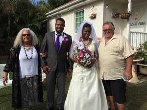 Photo Gallery: Vanuatu backpackers celebrate backyard wedding