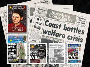 LOOKING BACK: Best Sunshine Coast Daily front pages