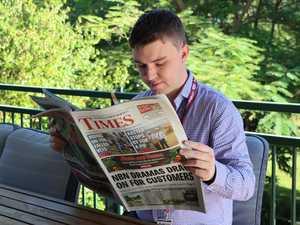 Burnett journo looks back on 'best decision' he's made