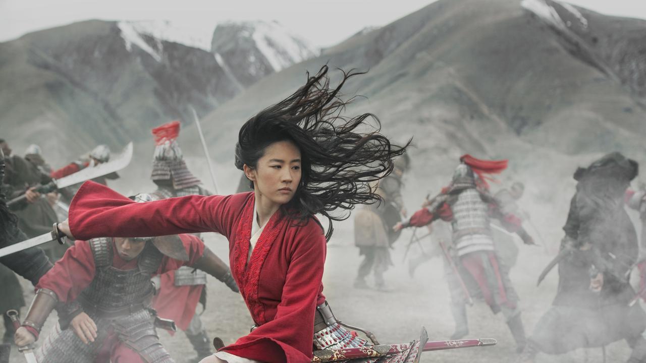 Actress Yifei Liu is Disney's new version of Mulan. Photo: Jasin Boland