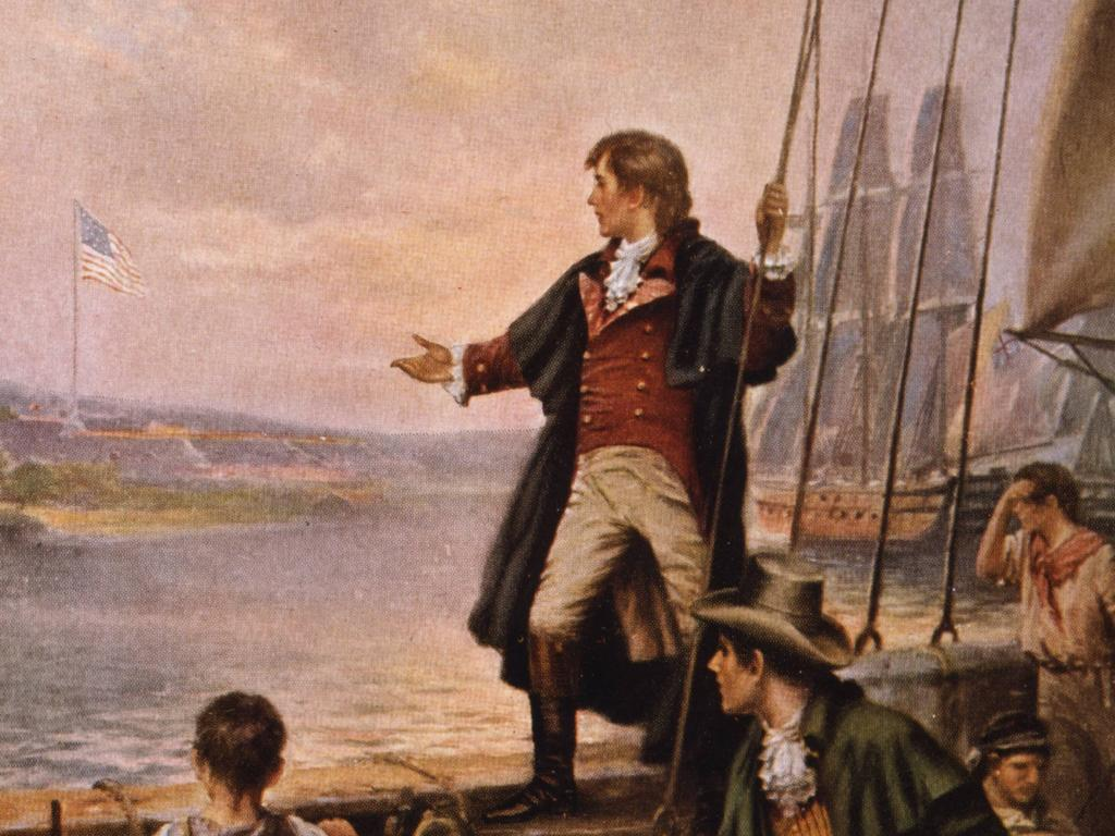 Francis Scott Key wrote the Star Spangled Banner. Picture: Supplied.