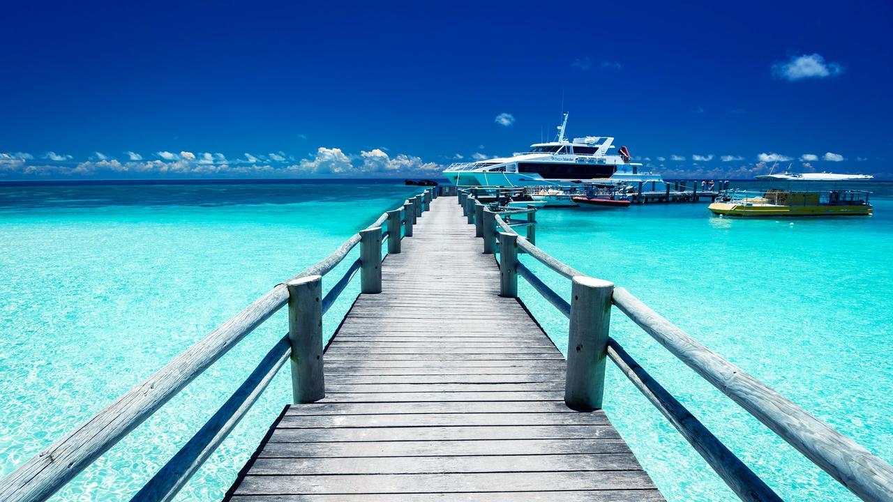 Embarquez pour une aventure sur Heron Island pendant ces vacances scolaires. Image: Heron Island