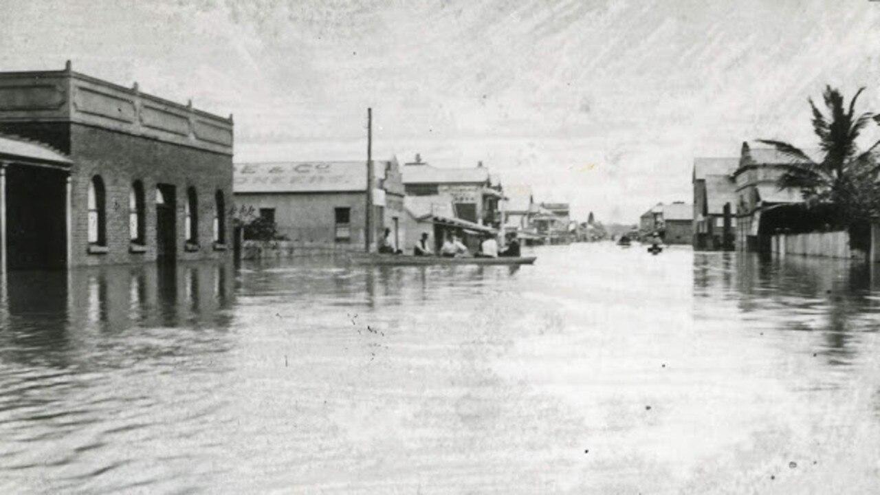 The Maryborough flood in 1893.