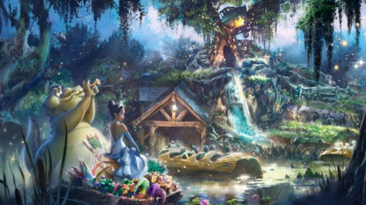 Disney has released a first glimpse at its new theme for the rides. Picture: Disney