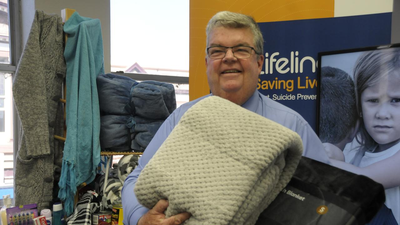 Lifeline Darling Downs CEO Derek Tuffield.