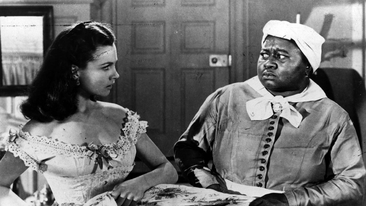 Vivien Leigh & Hattie McDaniel in Gone With The Wind.