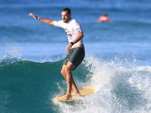 Noosa's surf is the perfect backyard