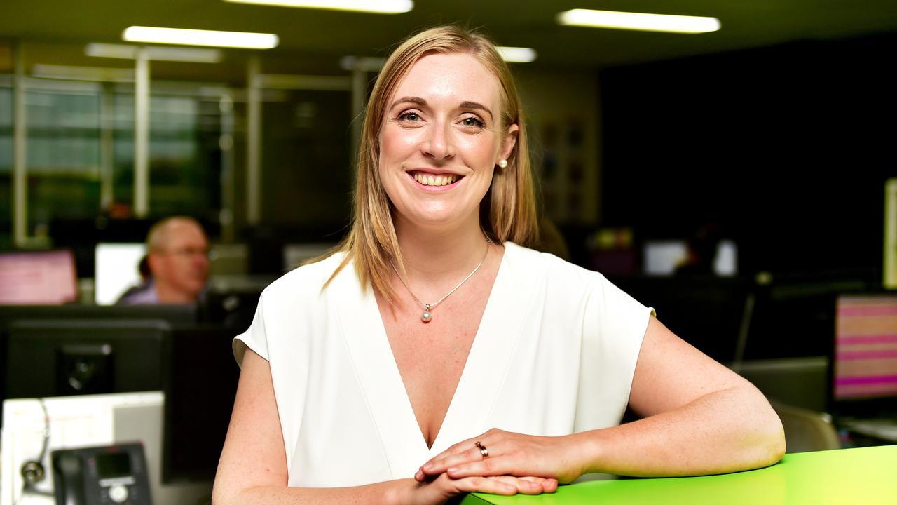 Former Sunshine Coast Daily editor Jenna Cairney. Photo: Alix Sweeney