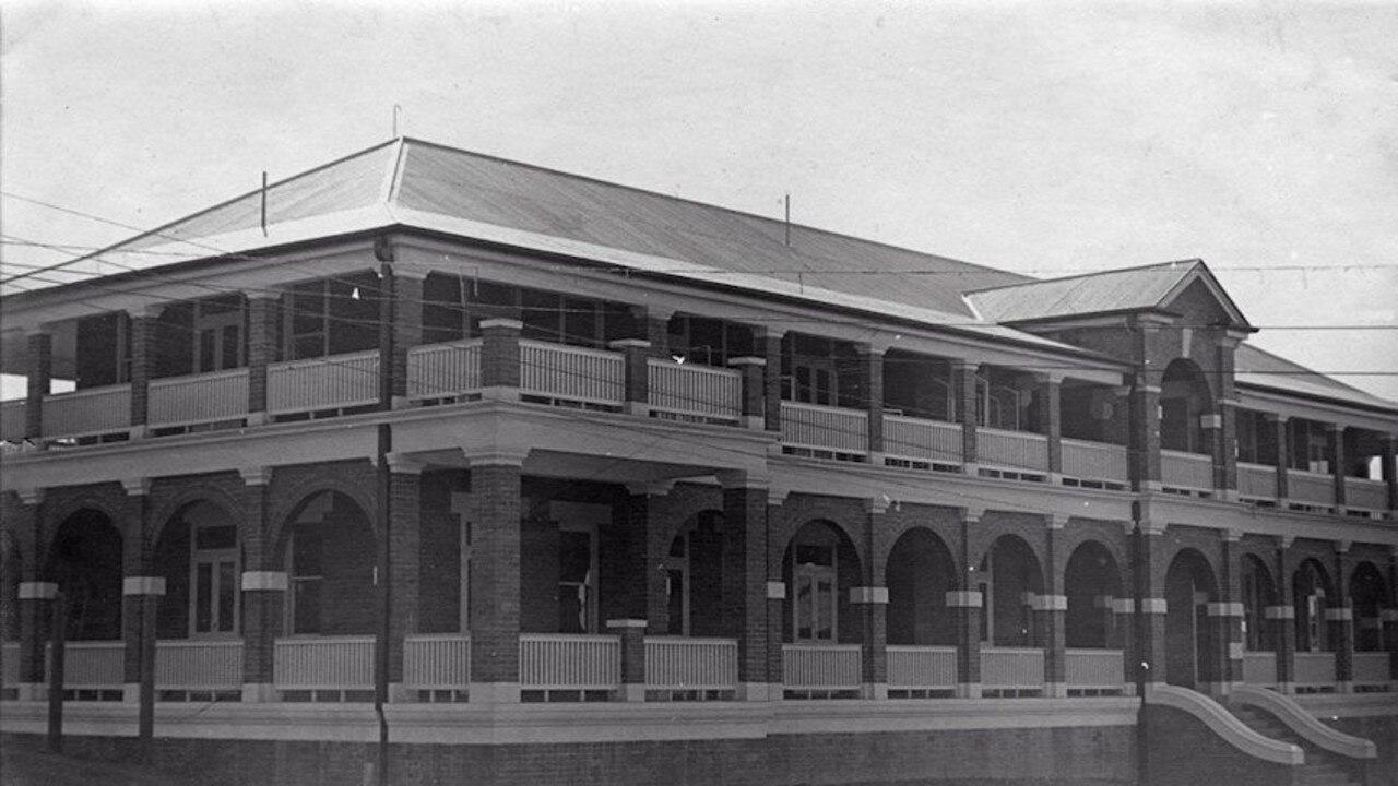 The Sunshine Ward in 1935.