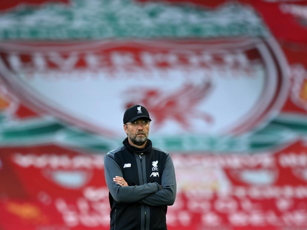 Liverpool manager Jurgen Klopp. (Photo by Shaun Botterill/Getty Images)